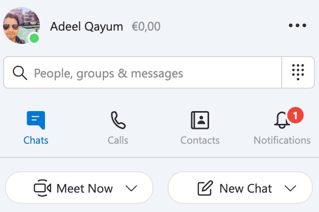 zoom vs skype starting meetings